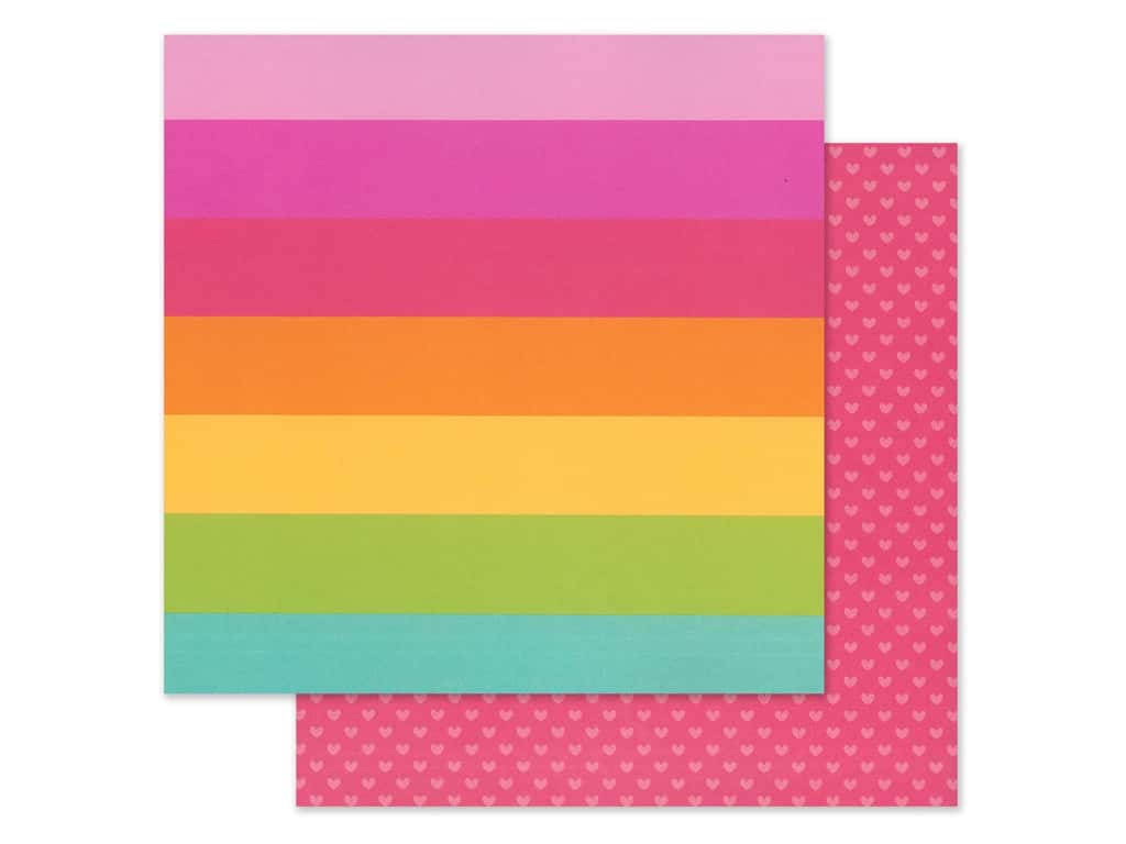 Doodlebug Collection Cute & Crafty Paper 12 in. x 12 in. Craft In Color (25 pieces)