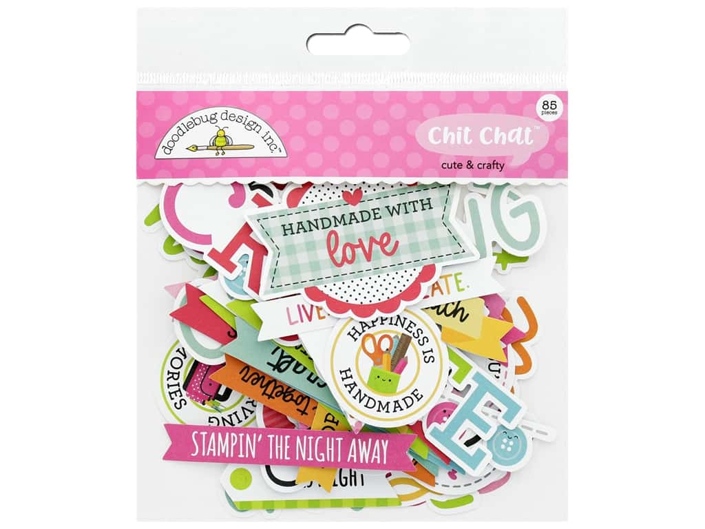 Doodlebug Collection Cute & Crafty Chit Chat