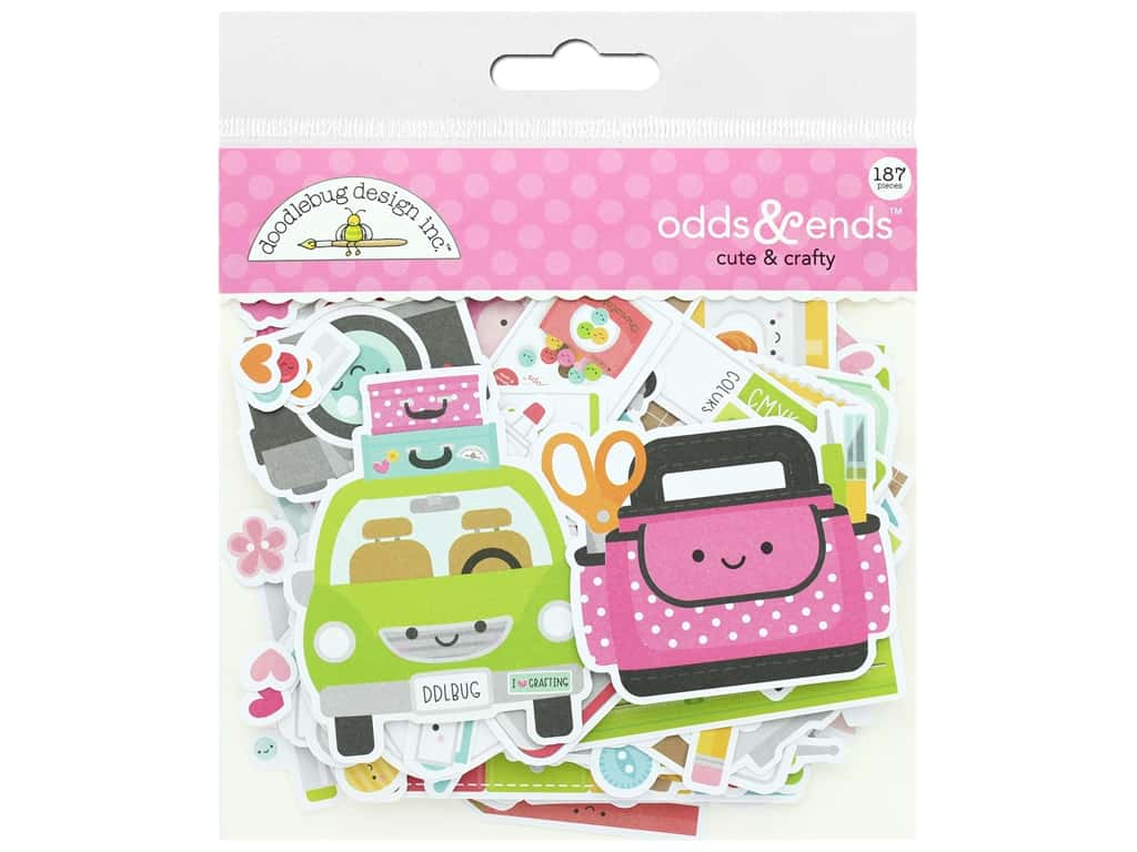 Doodlebug Collection Cute & Crafty Odds & Ends