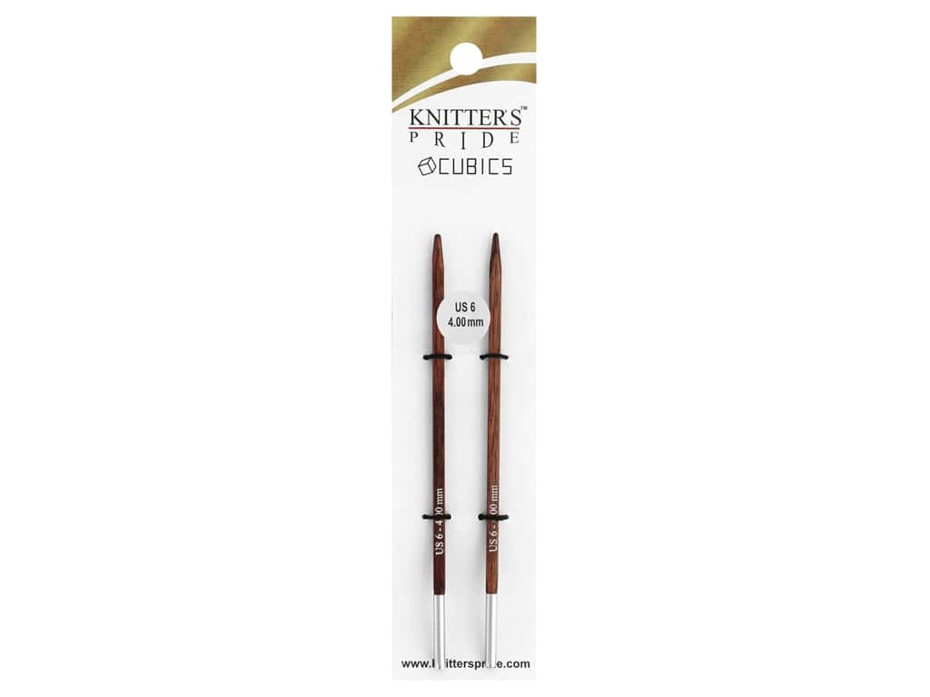 Knitter's Pride Cubics Interchanging Needle Size 6