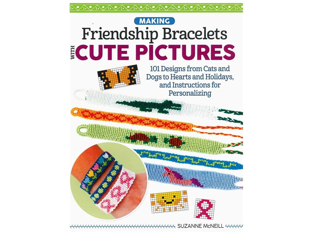 Making Friendship Bracelets with Cute Pictures Book