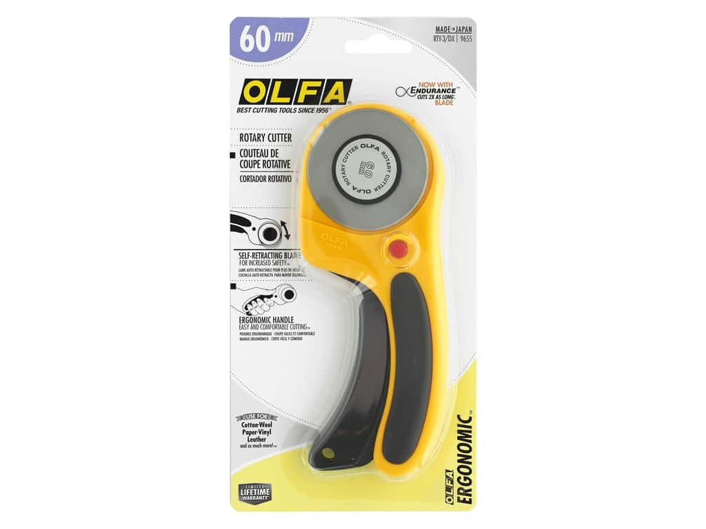 Olfa Deluxe Rotary Cutter 60 mm