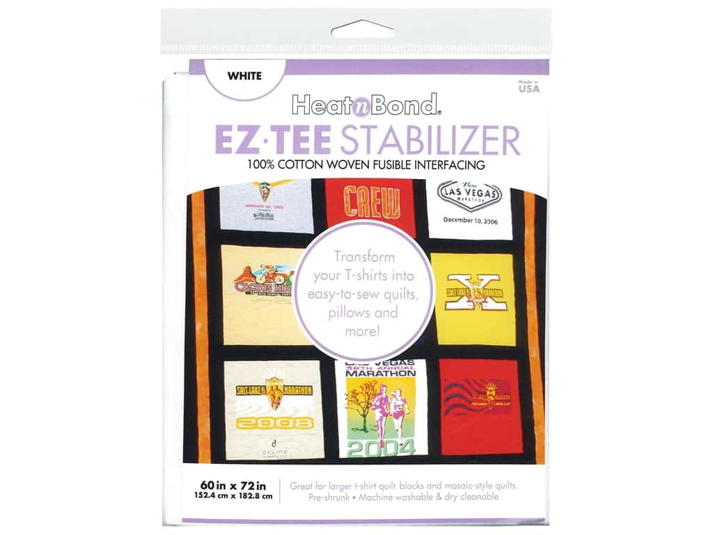 Heat n Bond Fusible Interfacing EZTEE Stabilizer 60 in. x 72 in. White
