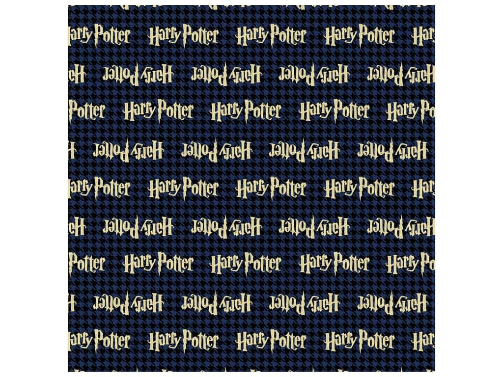 Harry Potter 44 in. Cotton Fabric - Houndstootth 8 yd.