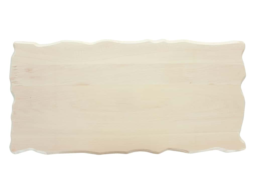 Walnut Hollow Basswood Rustic Rectangle 9 x 19 in.