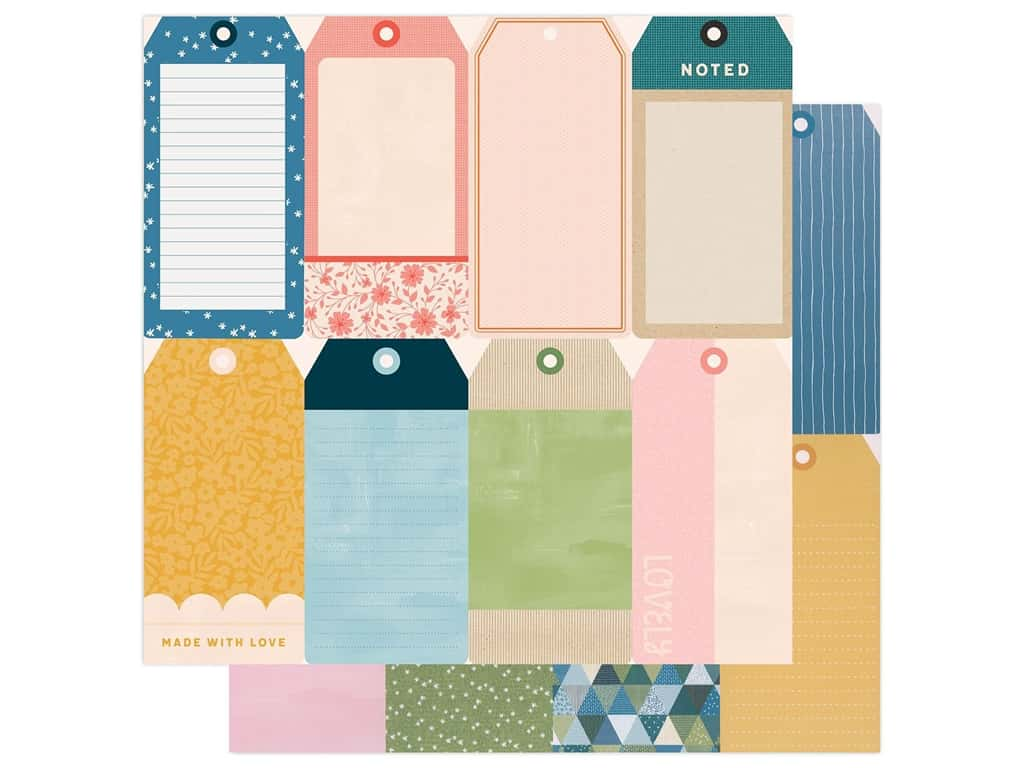 American Crafts Collection Paige Evans Bungalow Lane 12 in. x 12 in. #22 (25 pieces)