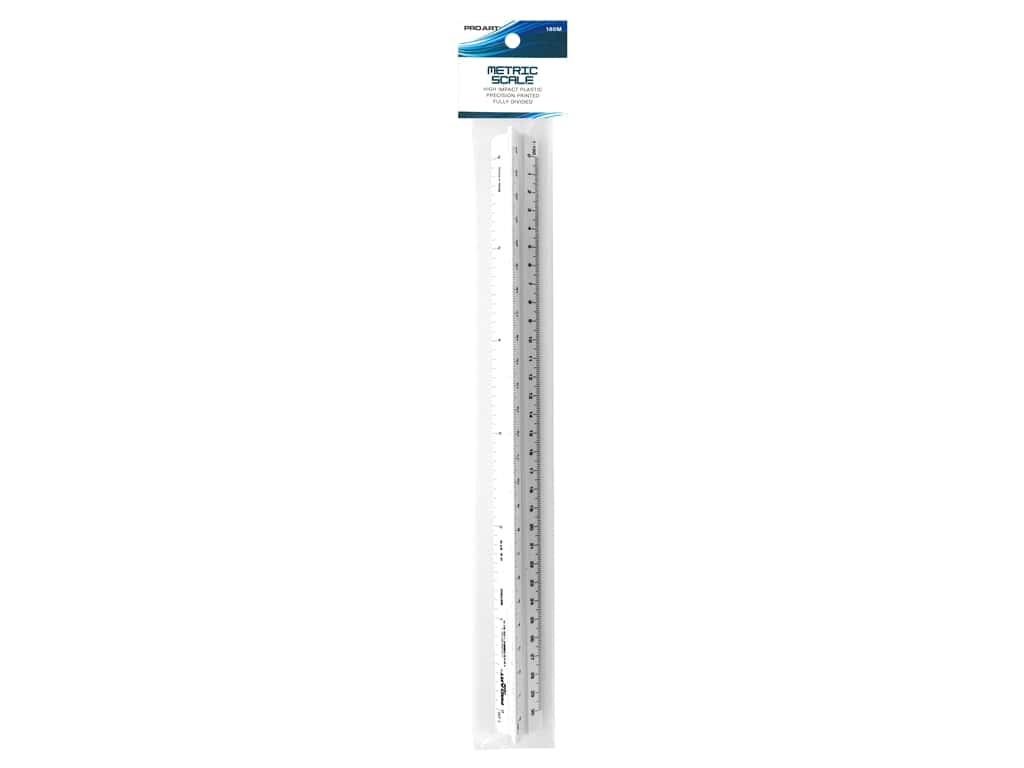 Pro Art Triangular Scale 12 in. Architectural/Engineer Combo