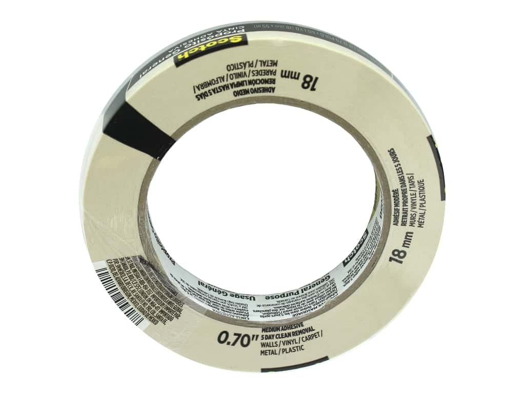 Scotch Painter's Masking Tape .70 in. x 60.1 yd.