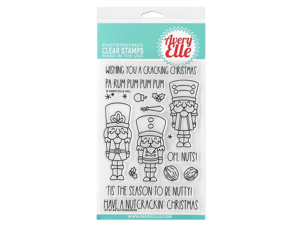 Avery Elle Clear Stamp Nutcrackers