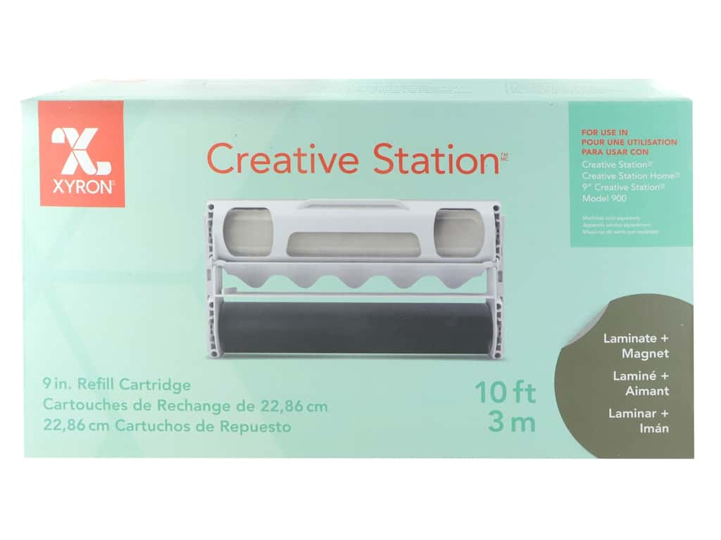 Xyron Creative Station 9 in. Laminate With Magnet Refill 10 ft.