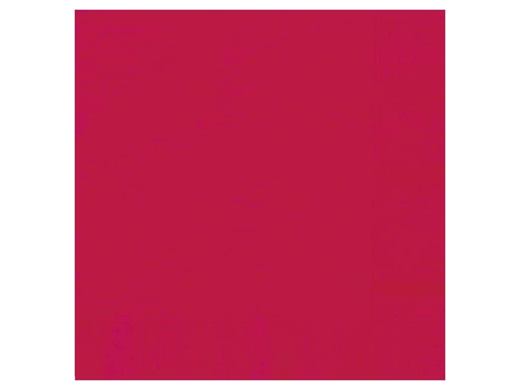 Unique Luncheon Napkins - Ruby Red 20 pc.