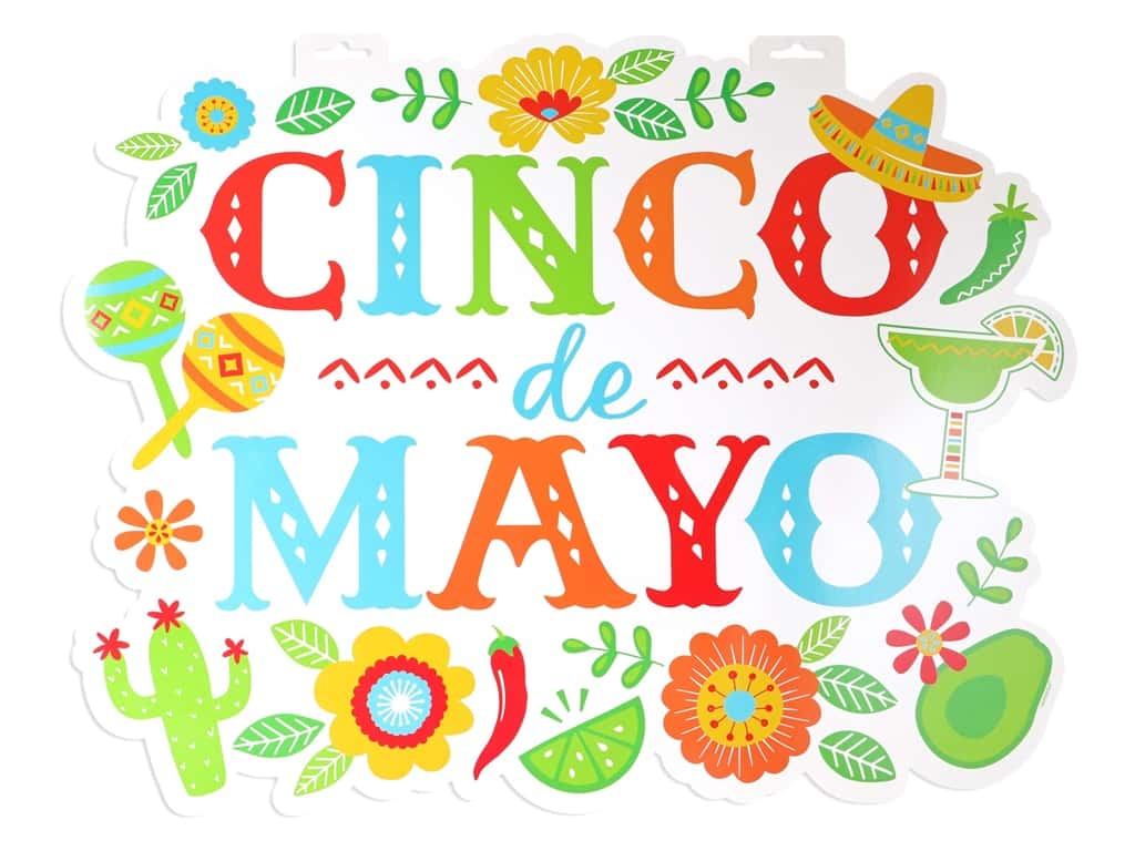 """Amscan Collection Fiesta Paper Cut-Out 24"""" Cinco de Mayo"""