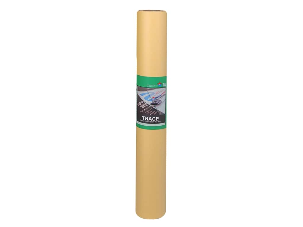 Pro Art Tracing Paper Sketch 14 in. x 50 yd Roll Canary