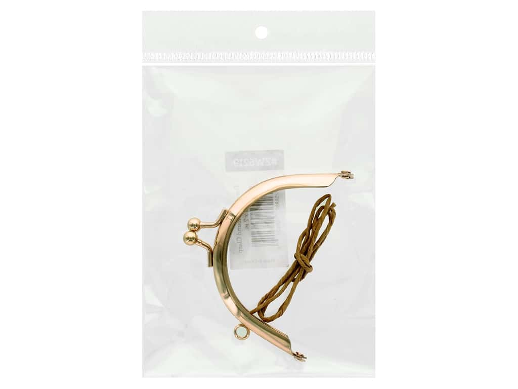 Zakka Workshop Hardware Round Clasp Rose Gold 3 in. x 2 in. Pouches Refill