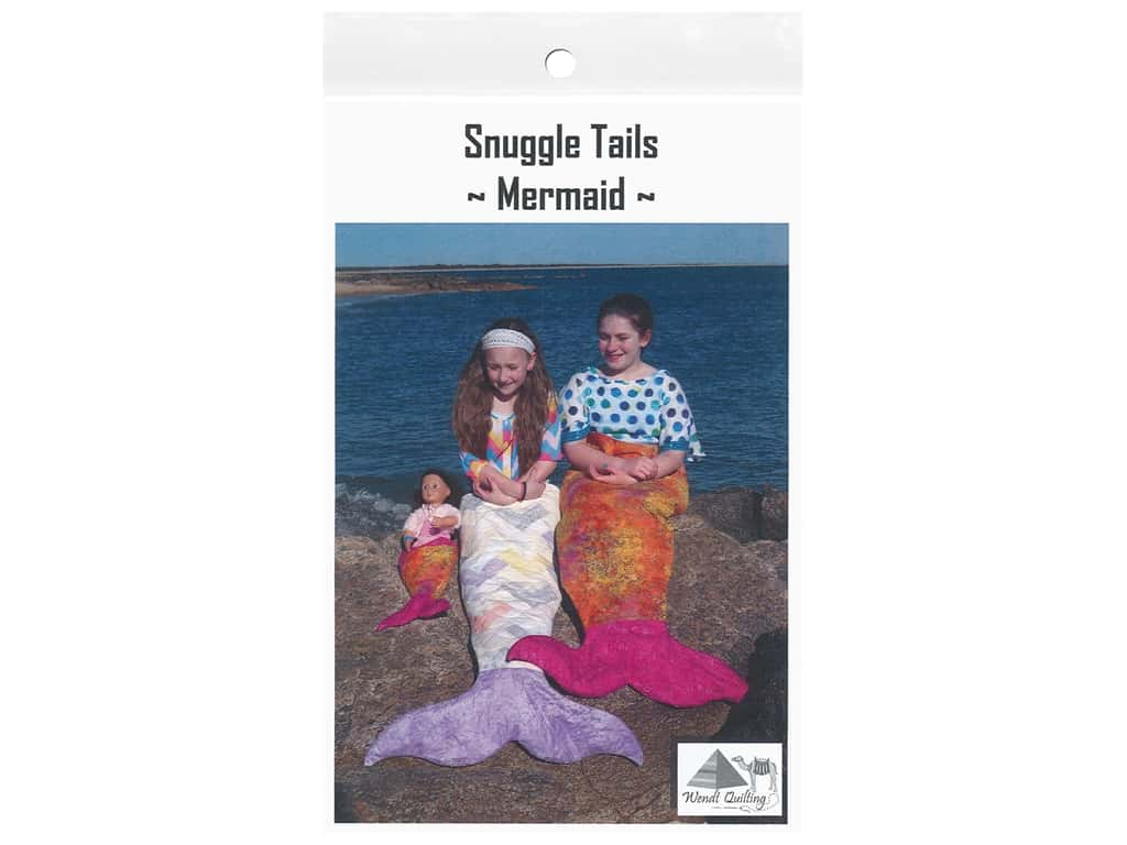 Wendt Quilting Patterns - Snuggle Tails - Mermaid