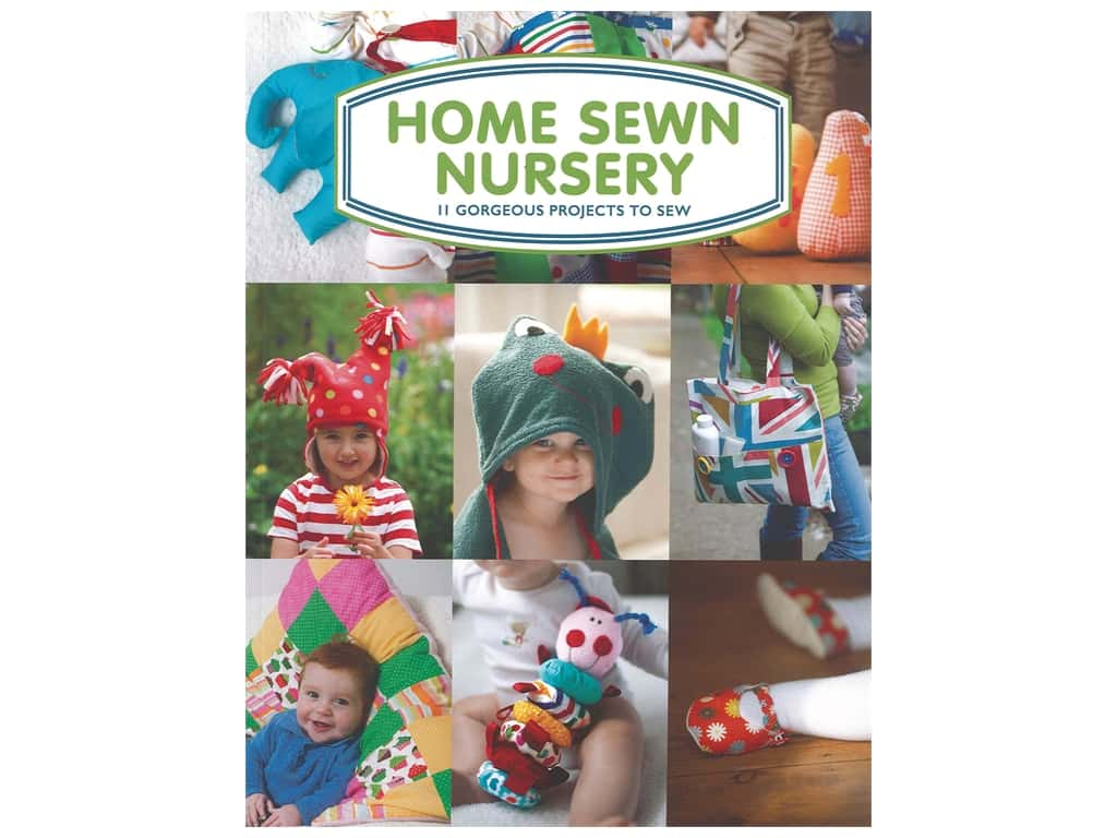 Guild of Master Craftsman Home Sewn Nursery Book