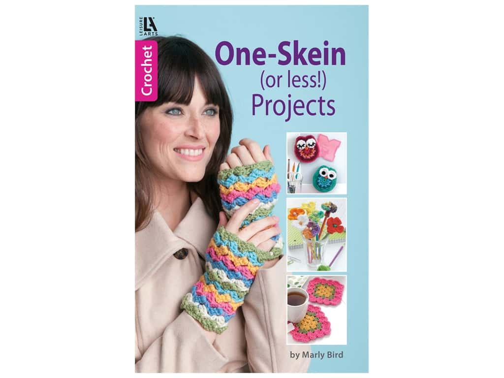 One Skein (or less!) Projects Crochet Book