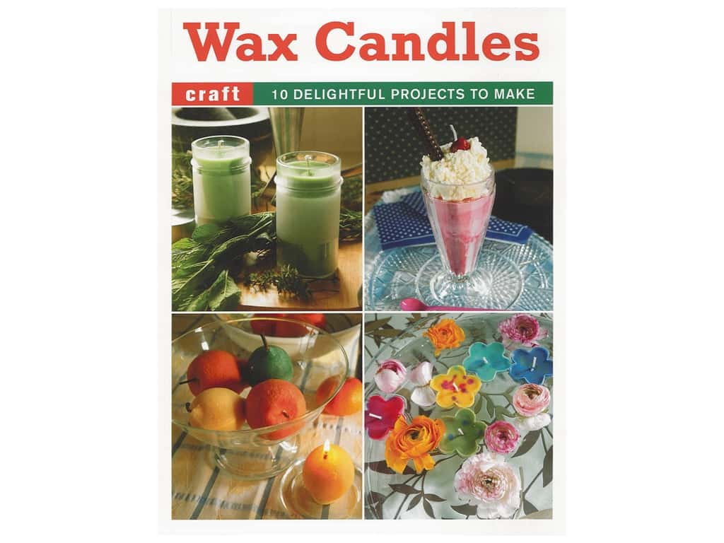 Guild of Master Craftsman Wax Candles Book