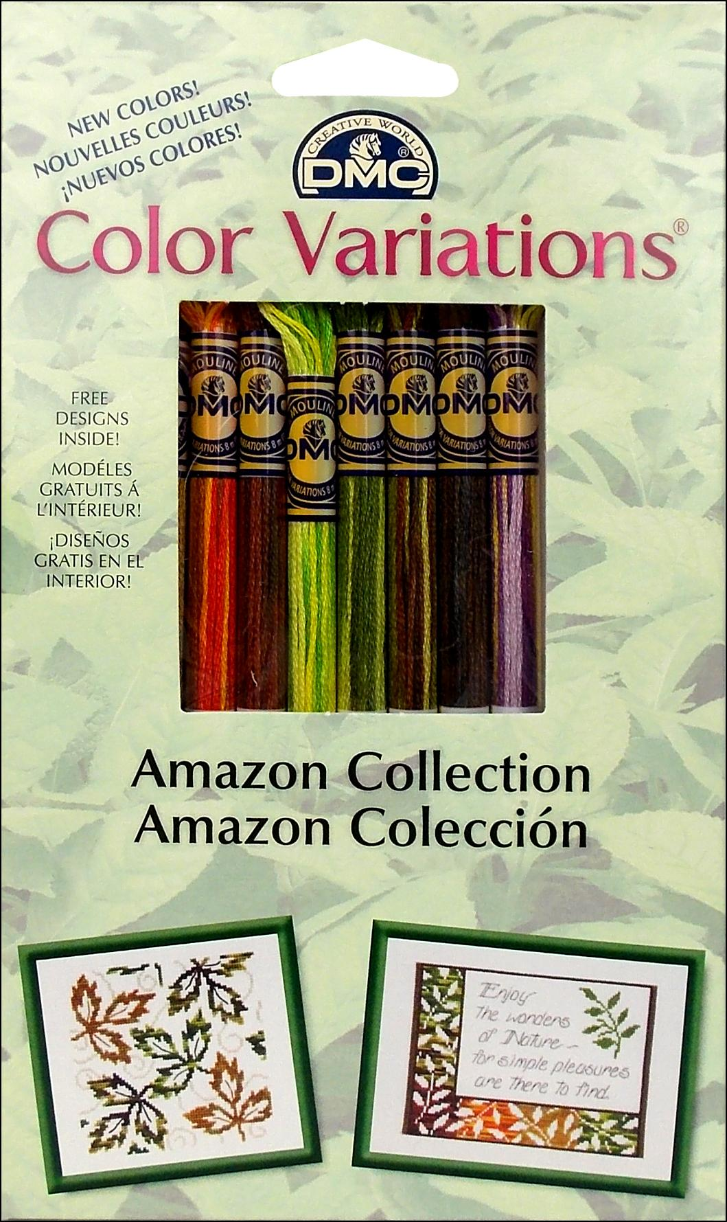 DMC Color Variations Floss Pack 8 pc. Amazon Collection -- CreateForLess
