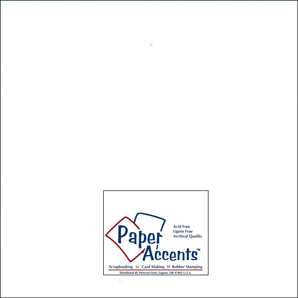 Scrapbooking supplies paper crafts at discount prices scrapbooking paper crafts paper accents cardstock 12 x12 in 128 smooth white jeuxipadfo Images
