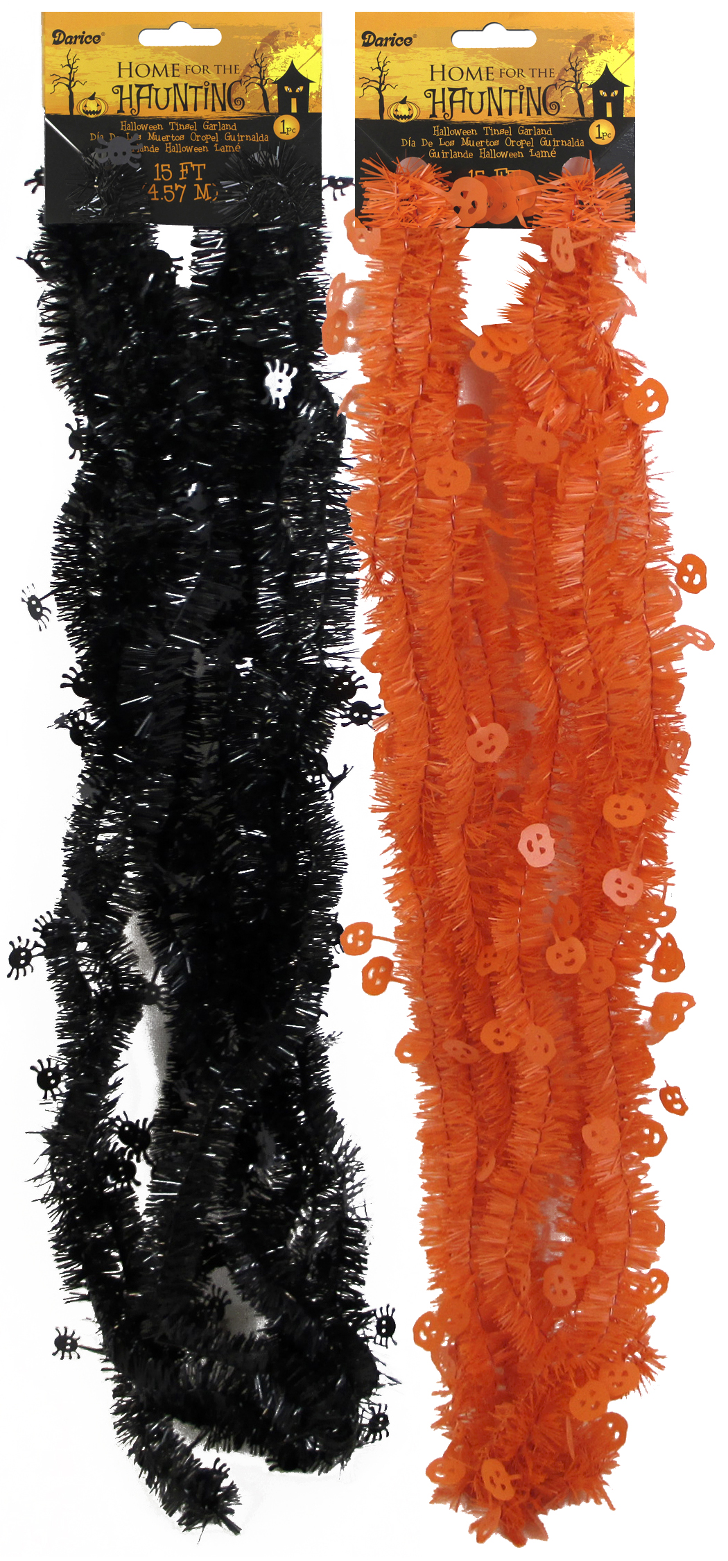 Collection halloween tinsel garland pictures best