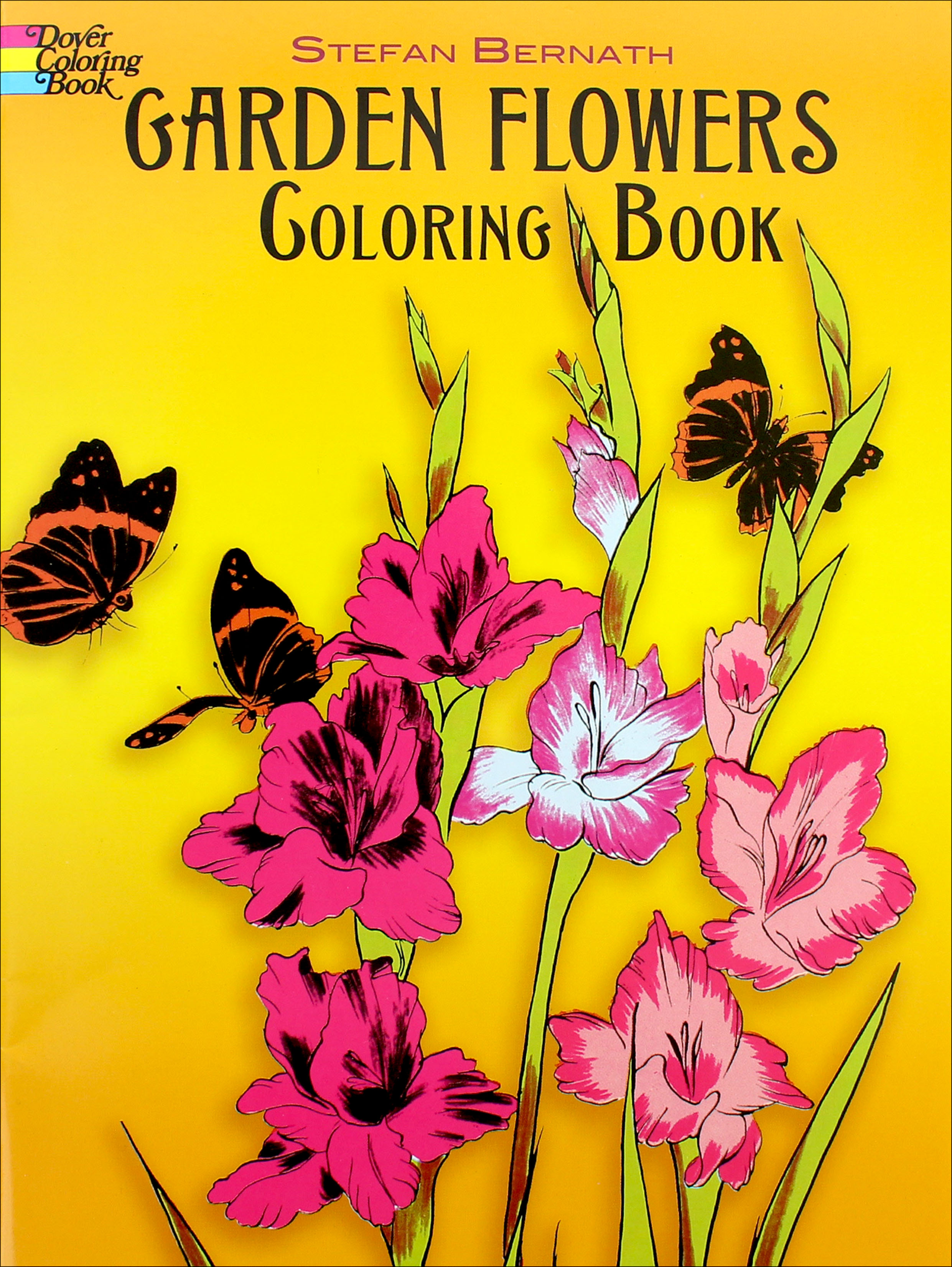 Garden Flowers Coloring Book CreateForLess