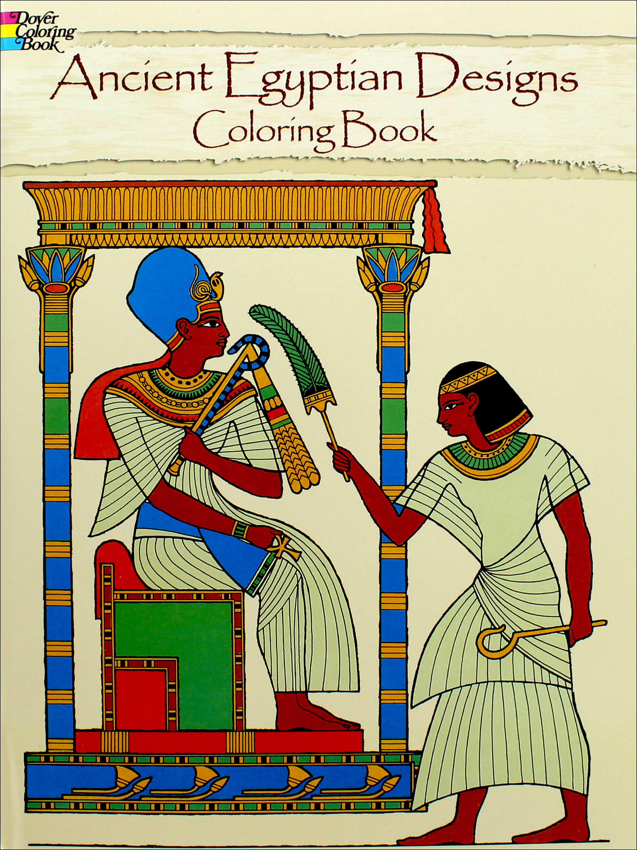 - Ancient Egyptian Designs Coloring Book -- CreateForLess