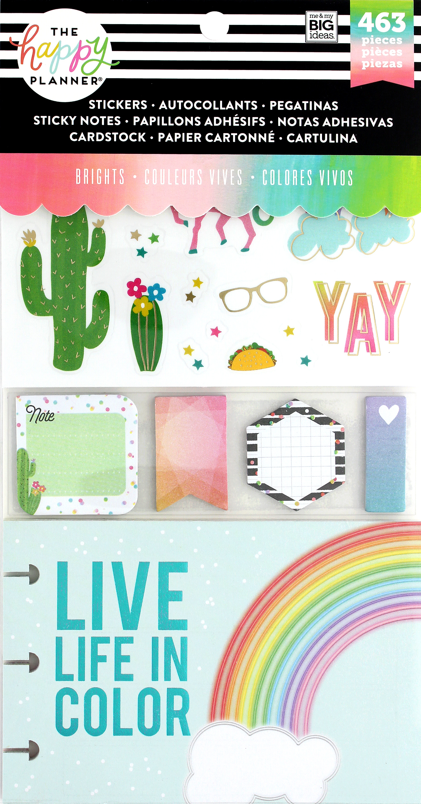Me&My Big Ideas Happy Planner Sticker Multi Pack Brights
