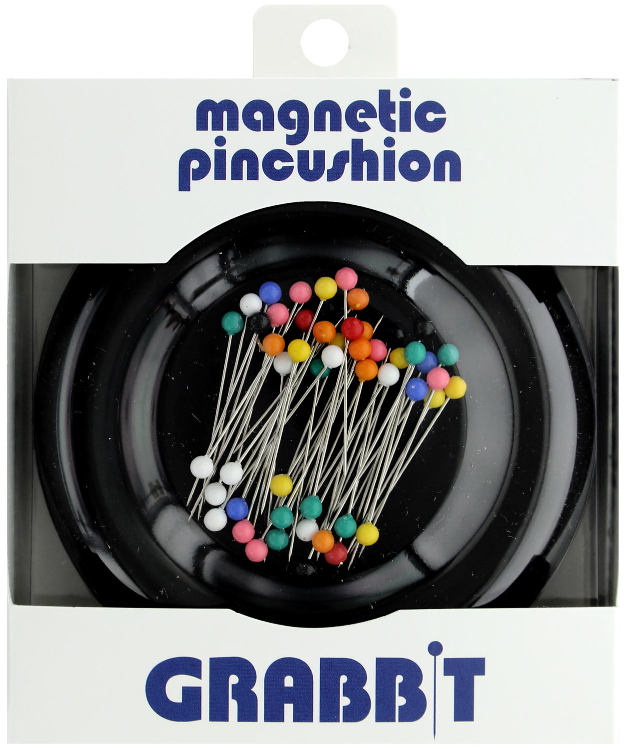 Grabbit Magnetic Blue Feather Pincushion