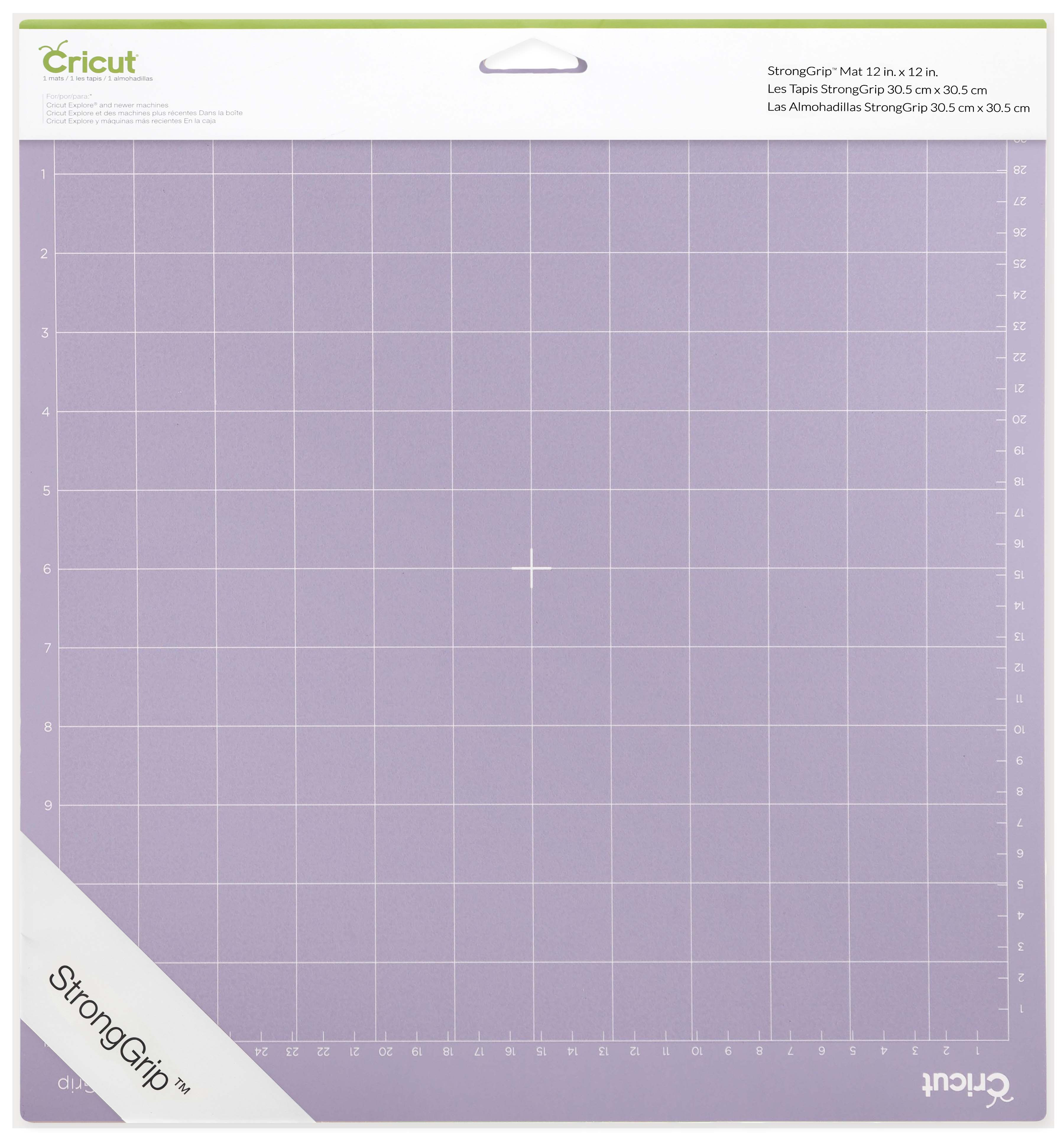 Variety Adhesive Quilting Cut Mats Replacement for Crafts、Sewing and All Arts. Ecraft Cutting Mat for Cricut Explore One//Air//Air 2 Maker(StrongGrip//StandardGrip//LightGrip,12X24inch 3 Pack