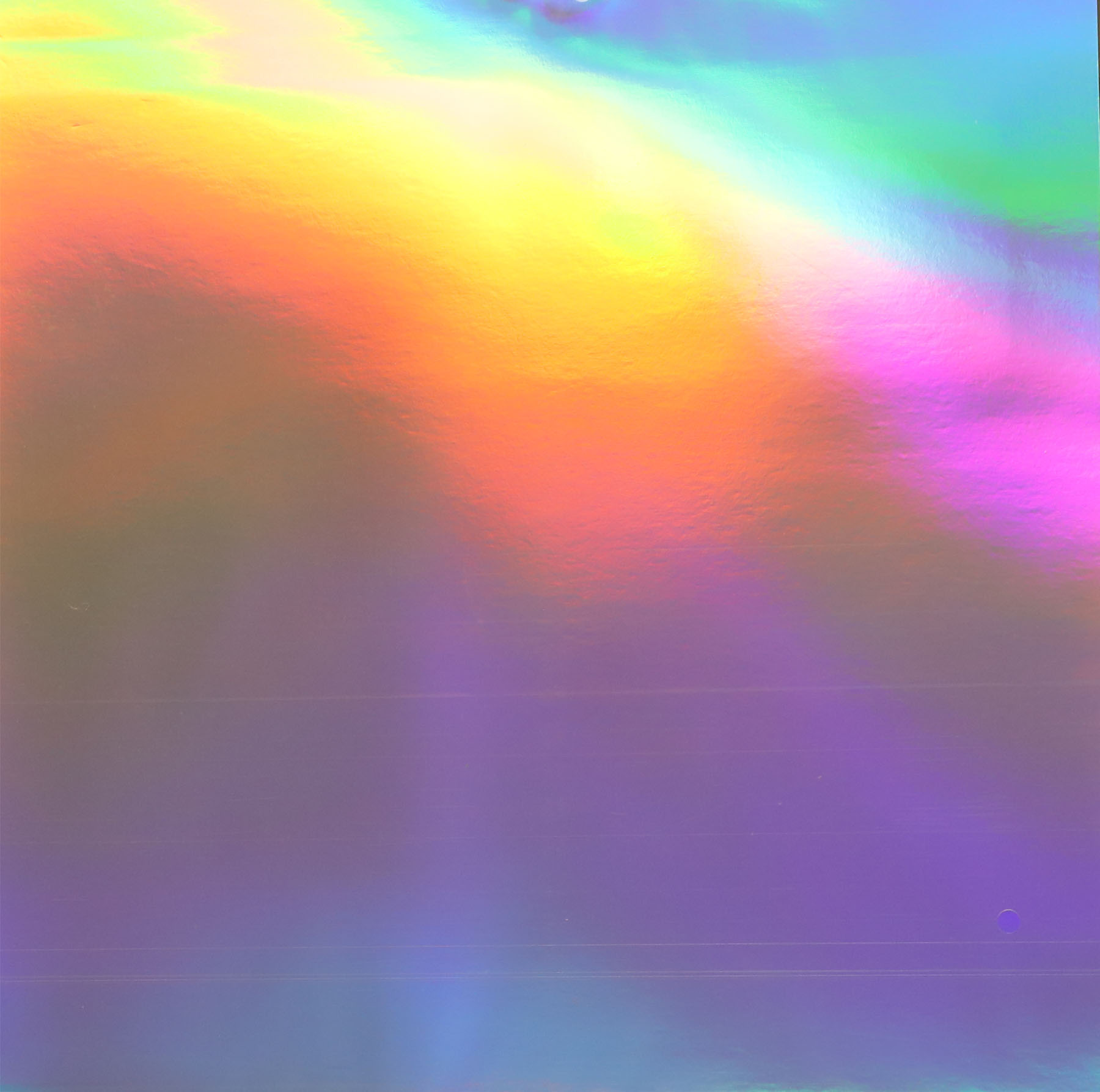 """Bazzill Foil Cardstock Rainbow Holographic 12/""""X12/"""""""