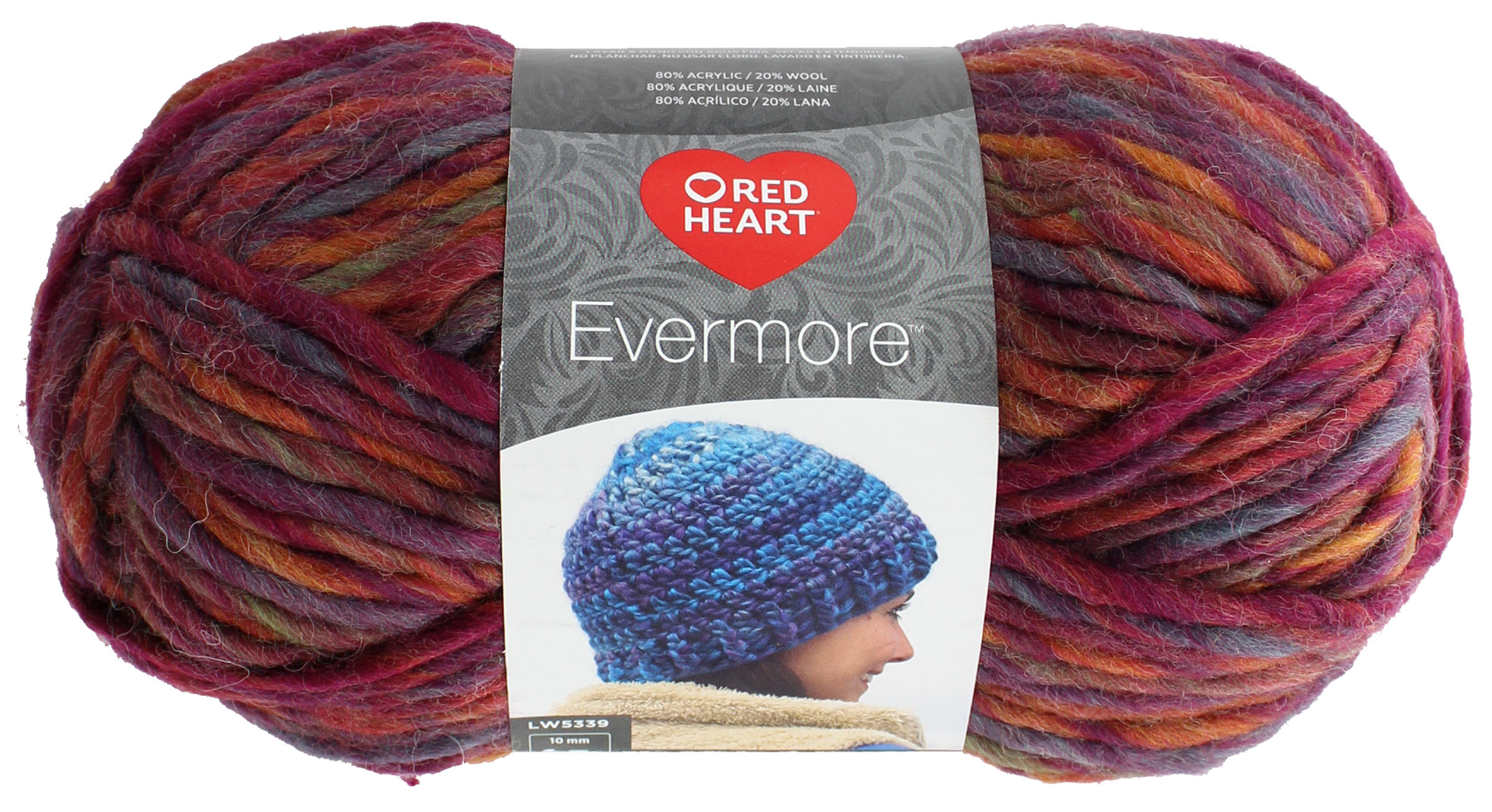 Red Heart Evermore Yarn Autumn 073650019722