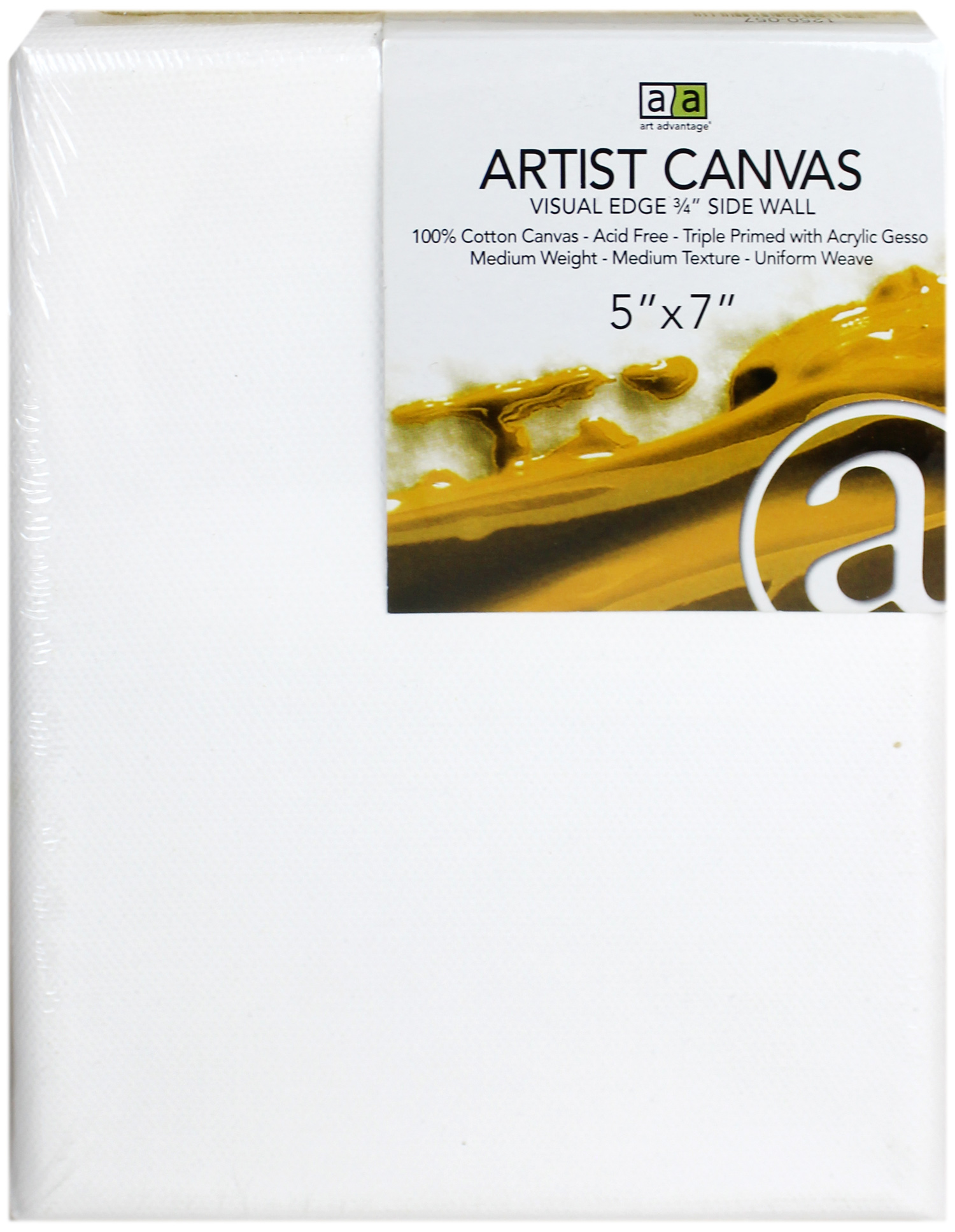 Art Advantage Artist Canvas 5 X 7 In 1