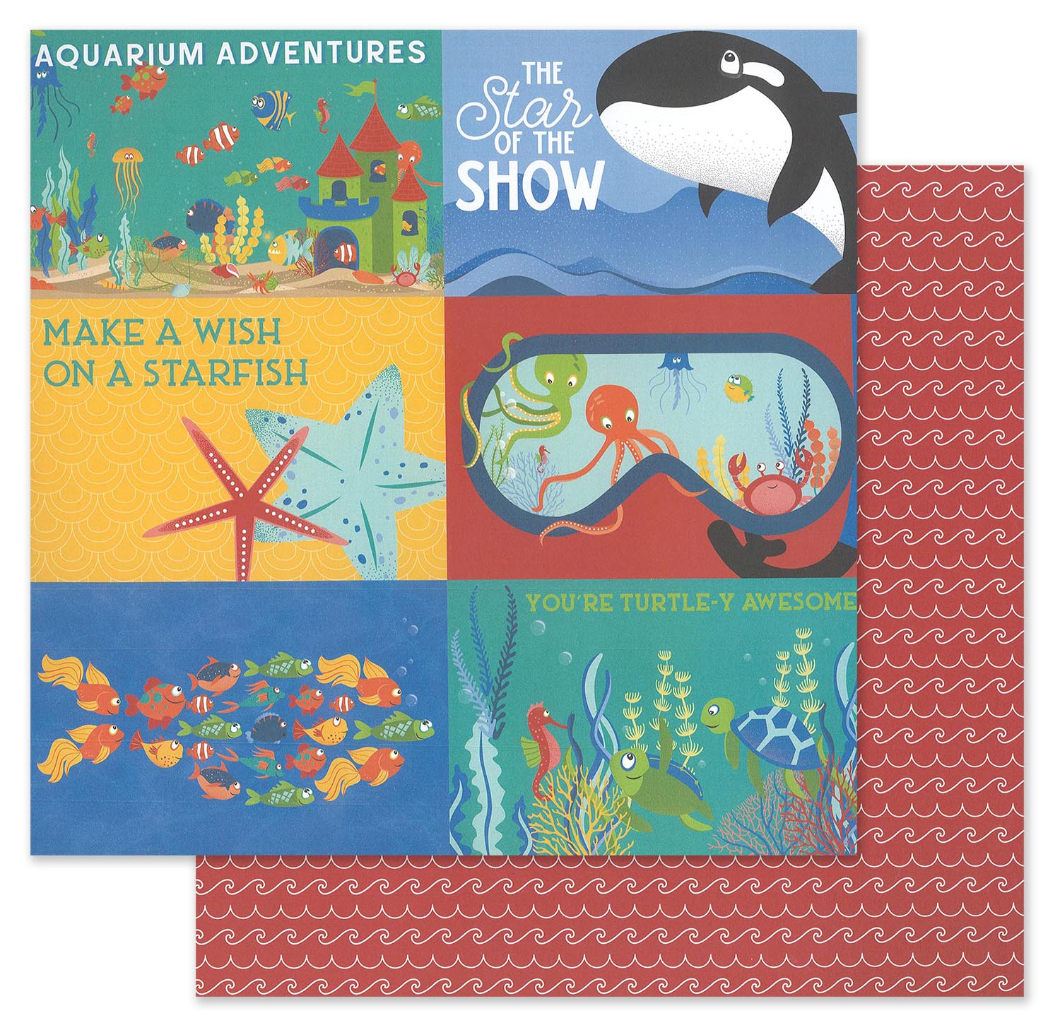 Photoplay Collection Pack 12x12-fish Tales